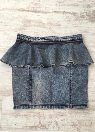 Юбка джинсовая noisy may
