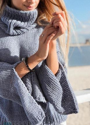 Стильный оригинальный свитер