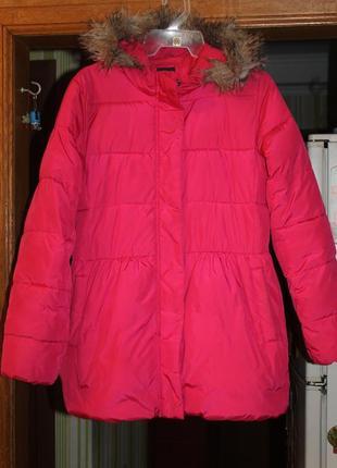 Пуховое пальто gap xxl 11-16 лет