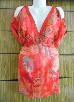 Блуза туника пляжная wallis размер l – идет реально 50-52+.