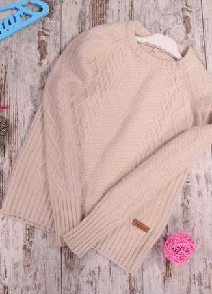 Теплющий шерстяной свитер barbour