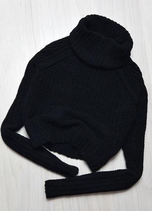 Укороченный свитер f&f