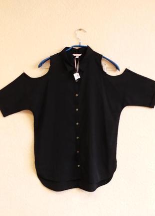 Блузка с открытыми плечами на девочку 14 лет misse vie
