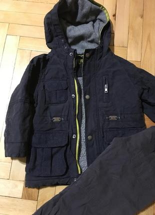 Теплая курточка зимняя термо куртка
