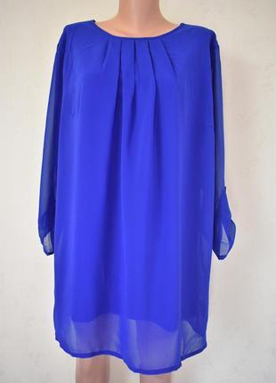 Красивое шифоновое платье cotton traders