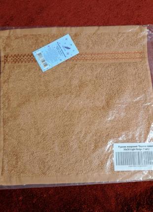 Новое махровое полотенце-салфетка