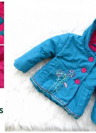 Стильная теплая куртка парка с капюшоном john lewis