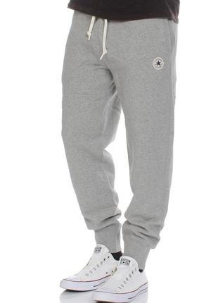 Утепленные брюки converse core ribb cuff jogger р. xxl оригинал