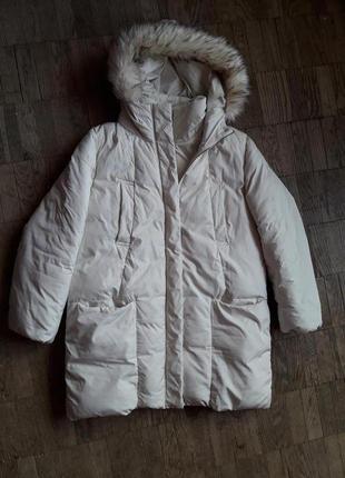 Куртка - пальто бежевое amisu