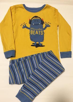 """Пижама на мальчика, 100% хлопок, """"carter's"""", оригинал сша"""