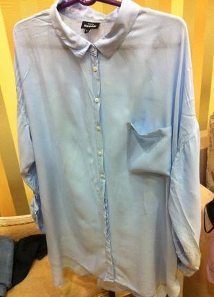 Рубашка блуза длинная