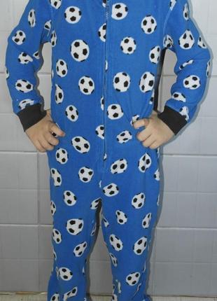 George слип футбол мяч кигуруми человечек пижама
