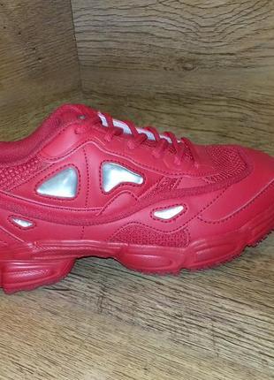 Красивенные кроссовки женские baas l515 в стиле fila р. 36-41 пудра и красные