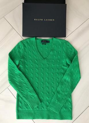 Кашемировый свитер ralph lauren. оригинал.