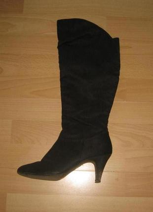 Элегантные текстильные ботиночки на маленьком каблуке