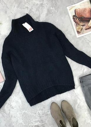 Теплый свитер с высокой горловиной от h&m  sh1845129 h&m