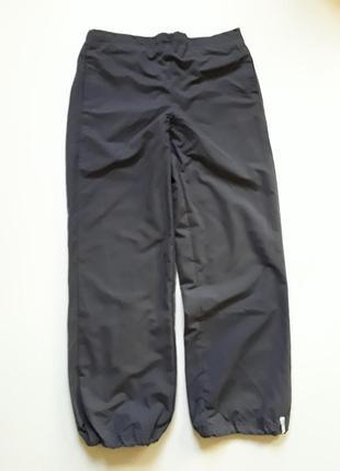 Плащевые штаны на подкладке
