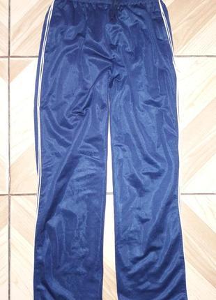 Спортивные штаны с небольшим начесом , р.8-9лет.