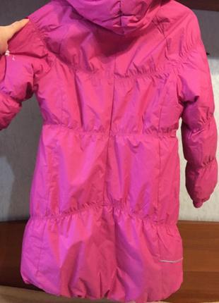 Зимнее пальто lenne р.146 в отличном состоянии