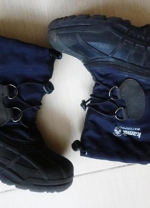 Ботинки зимние термо kamik 11 28 29 водонепроницаемые