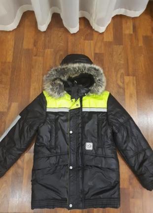 Зимняя  удлиненная куртка lenne 152cm