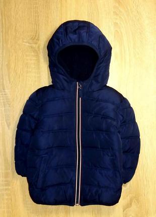 Теплая куртка next,рост 92 см (1.5-2 года).