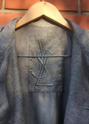 Пиджак yves saint laurent2 фото