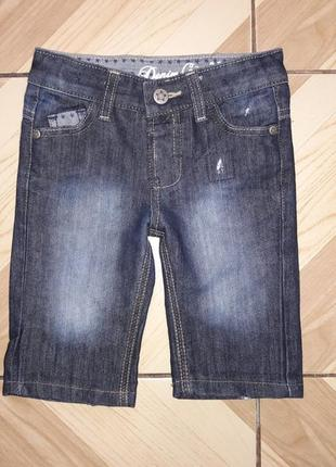 Джинсовые шорты denim go, р.2-3года будуть на дольше.