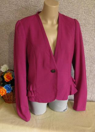 Нарядный пиджак h&m размер eur 42-44