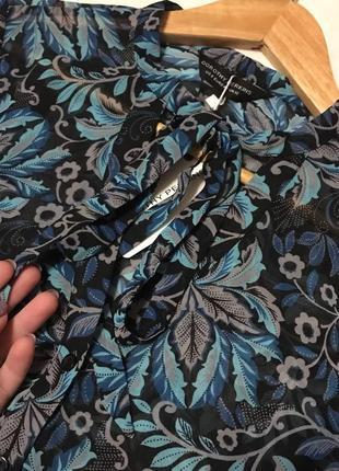Нарядная шифоновая блузочка в цветочный принт от dorothy perkins2 фото