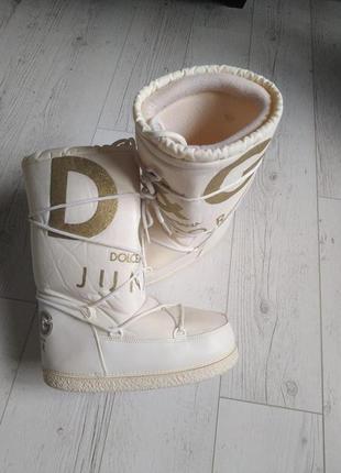 Луноходы snow  boots moon boots сапоги р. 38-39-40 оригинал