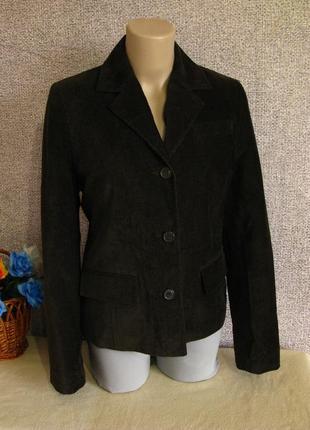 Пиджак/ жакет мягкий микро вельвет . размер eur 38