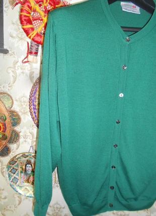 #брендовая шерстяная кофточка #peter hahn#оригинал #большой размер # # # #