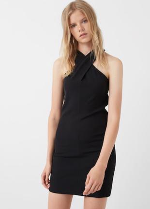 Платье mango вечернее платье выпускное на новый год платье черное мини платье на выпуск