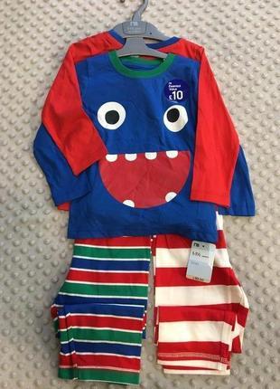 Пижама на мальчика mothercare
