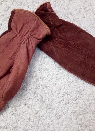 Замшеві рукавиці,  варежки