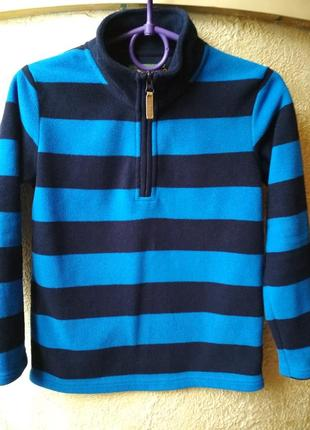 Флисовая кофта свитер гольф джемпер john lewis 9лет