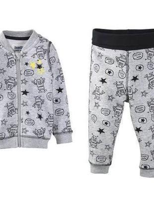 Теплый костюм для мальчика lupilu код. 181108
