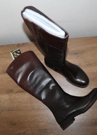 Водонепроницаемые кожаные сапоги ecco saunter