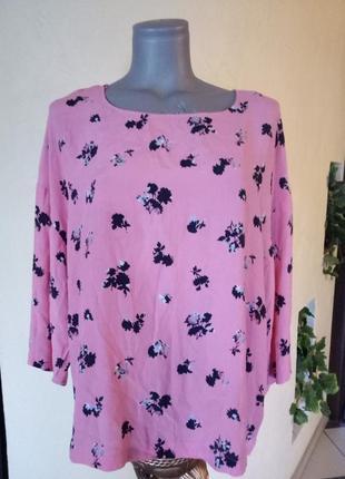Вискозная блуза,54-56 размер