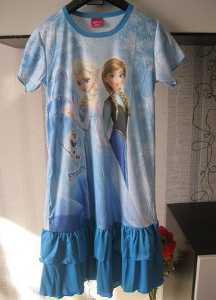 Новогоднее праздничное платье эльза туника игровой костюм аниме косплей