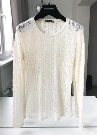 Шикарная блуза zara оригинал