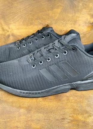 Крутые кроссовки adidas zx flux ( 47 размер )