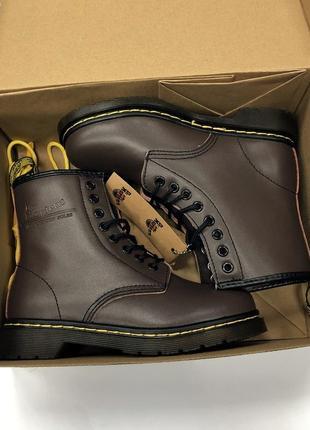 Ботинки dr. martens коричневые топ качество!2
