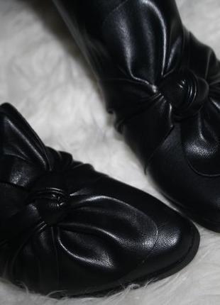 Актуальные ботинки с бантом missguided3 фото