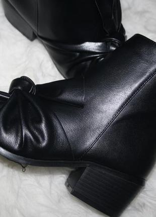 Актуальные ботинки с бантом missguided4 фото