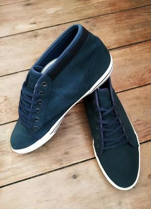 Кроссовки ботинки le coq sportif оригинал ! 43 размер замш осень