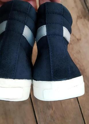 Замшевые ботинки bikkembergs оригинал ! 42 размер осень3 фото