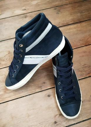 Замшевые ботинки bikkembergs оригинал ! 42 размер осень1 фото