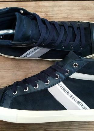 Замшевые ботинки bikkembergs оригинал ! 42 размер осень2 фото